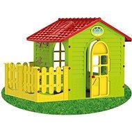Gyermek kerti ház kerítéssel - Játékház