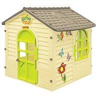 Kert kis ház virágokkal - Játszóház