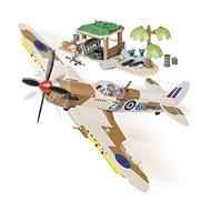 Cobi 5545 WW II Supermarine Spitfire Sivatagi repülőtér - Építőjáték