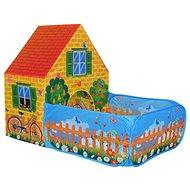 Házikó kerttel - gyermeksátor - Gyereksátor