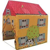 Stan - családi ház mintás sátor - Gyereksátor
