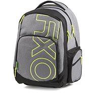 OXY Style GREY LINE Green - Iskolatáska