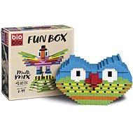 Bioblo Fun Box - 200 építőelem - Építőjáték