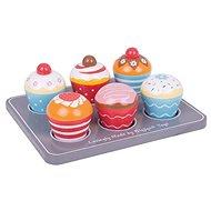 Bigjigs Toys Muffinok - Fajáték