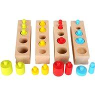 Készségfejlesztő játék Többszínű logikai játék - Didaktická hračka