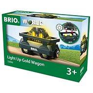 Brio World 33896 arannyal megrakott vasúti kocsi - Vasútmodell kiegészítők