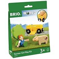 Brio World 33875 Farmerlány - Vasútmodell kiegészítők