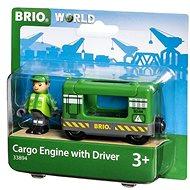 Brio World 33894 Tehermozdony mozdonyvezetővel - Vasútmodell kiegészítők