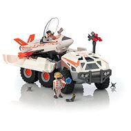 Playmobil 9255  Kém csapat vadászgépet szállító kamionnal - Építőjáték