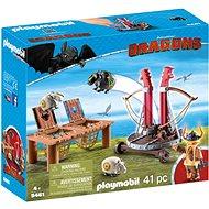 Playmobil 9461 Bélhangos báránycsúzlival - Építőjáték