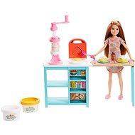 Barbie Stacie Reggeliző szett - Baba