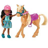 Barbie Chelsea pónival - Baba