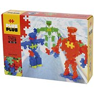 Plus-Plus Mini Neon 170 robotok - Építőjáték