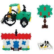Plus-Plus 480 darabos Mini Basic Farm - Építőjáték