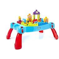 Mega Bloks A kis építőmester építőasztala - Építőjáték