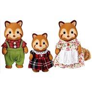 Figura Sylvanian Families Vörös panda család