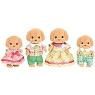 Sylvanian Families Pudli család - Figurák