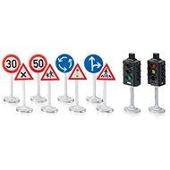 Siku World - Jelzőlámpák közúti jelzőtáblákkal - Kiegészítő autókhoz, vonatokhoz, modellekhez