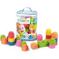 Clementoni Clemmy baby - 24 kocka műanyag zacskóban - Építőjáték