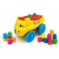 Clementoni Clemmy baby - Tigris formájú autó kockákkal - Játékautó