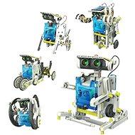 Szolár Robot 14 az 1-ben napelemes építőkészlet - Elektromos építőkészlet