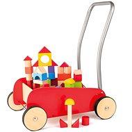 Woody Kiskocsi építőkockákkal - Építőjáték