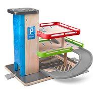 Woody Garázs felvonóval és kiegészítőkkel - fa / műanyag - Ponyvagarázs