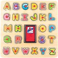 Készségfejlesztő játék Woody Bélyegzők/ABC Puzzle - Didaktická hračka