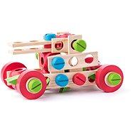 Woody szerelős tervező készlet - 100 db - Építőjáték