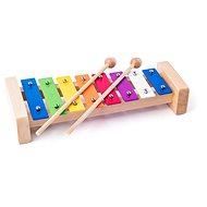 Woody fém xilofon - Zenélő játék