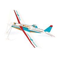Scratch Tűzoltó repülőgép propellerrel és gumival - Repülőgép