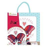Avenue Mandarine Gyermek hímző készlet - Pillangó motívummal - Kreatív szett