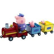 Peppa Pig - Vonat + 3 figura - Játék szett