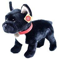 Rappa álló francia bulldog, 30 cm - Plüssjáték