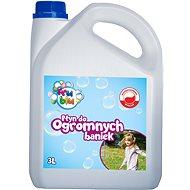 Fru Blu Mega Bubi buborékfújó utántöltő folyadék (3 liter) - Kreatív szett kiegészítők