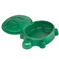 Paradiso sötétzöld teknős fedővel - Homokozó