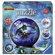 Ravensburger 3D 111442 Puzzle-Ball Így neveld a sárkányodat 3 - 3D puzzle
