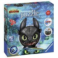 Ravensburger 3D 111459 Puzzle-Ball Így neveld a sárkányodat 3: Fogtalan - 3D puzzle