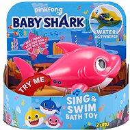 Zuru Robo Alive Junior - Baby Shark - rózsaszín - Vizijáték