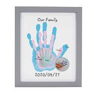 Pearhead Family képkeret tenyérlenyomatokra, fehér - Képkeret