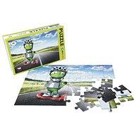 Alza Puzzle 40 darab - idegen idegen Gyroboardon - Puzzle
