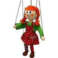 fa marionett baba- lány 20 cm - báb