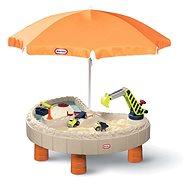 Little Tikes Builders Bay Vízi játékasztal és homokozó építőknek - Homokozó