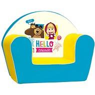 Gyerek fotel Mása és a medve - Gyerekfotel