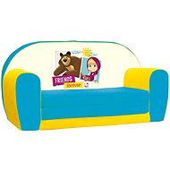 Gyerek kanapé Mása és a medve - Gyerek szófa