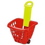 Bevásárlókosár Ecoiffier kerekes bevásárlókosár összecsukható - Nákupní košík