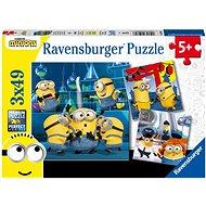Ravensburger puzzle 050826 Mimoni 2 3x49 darab - Puzzle