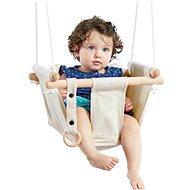 Dvěděti Gyermek textil hinta 100% pamut, bézs