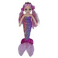 Ty Mermaids Lorelei, 27 cm - lila fólia sellő