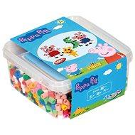 Gyöngyök dobozban 900 db Peppa Pig - MAXI - Gyöngyök